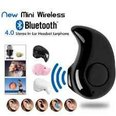 Smart Wireless Mini Bluetooth Earphone - Black