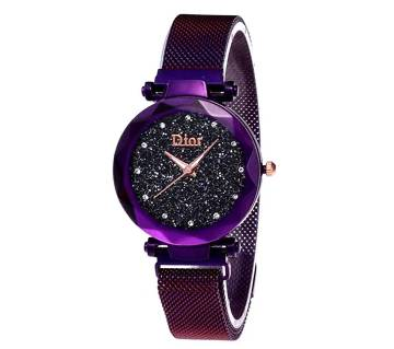 D magnet ladies watch