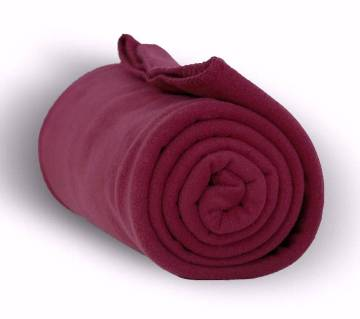 Winter micro fiber bed blanket 1pices (Random Color)