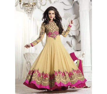 Semi stitched Georgette long party suit (copy)