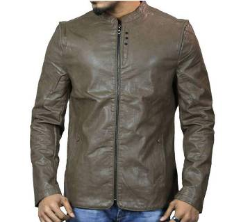 PU Leather Jacket For Men