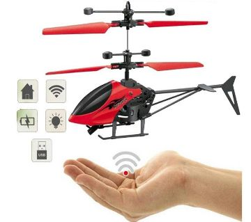 Hand Sensor Control Flying Helicopter