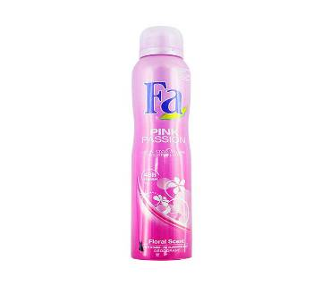 Fa Deo Spray Pink Passion 200ml (UAE)