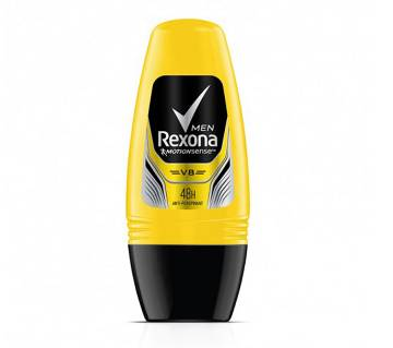 Rexona Men Anti-perspirant Roll On V8 Yellow Color 50 ml (UAE)
