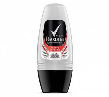 REXONA ACTIVE DEFENSE ANTI-PERSPIRANT ROLL ON FOR MEN 50ML (UAE)