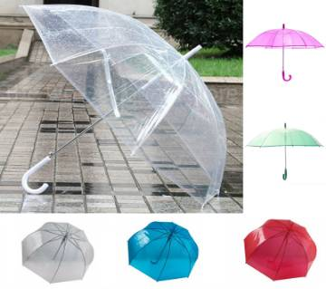Transparent Umbrella For Kids with attach whistle