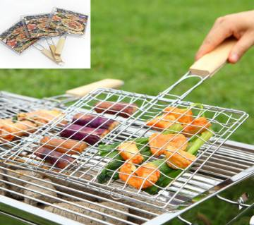 BBQ Meshes Clump Food Clip Hand Net