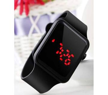 Apple shaped black watch-Copy