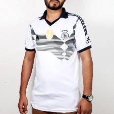 2018 World Cup Germany Home Short Sleeve Jersey (Copy)