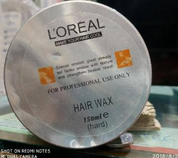 Loreal Hair Wax 150gm (france)