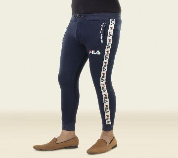 Slim Fit Navy Blue Trousers / Joggers & Sweats Pants for Mans