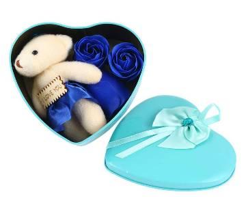 Valentine love box blue