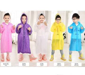 Chainise Rain  coart  (for kids) 1piece