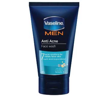 Vaseline Men Anti Acne Face Wash 100gm
