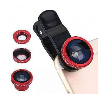 Mobile Zoom Lens - Red and Black
