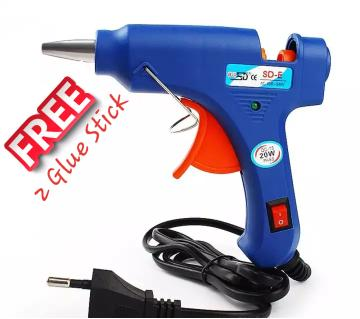 Glue Gun with free Two stick