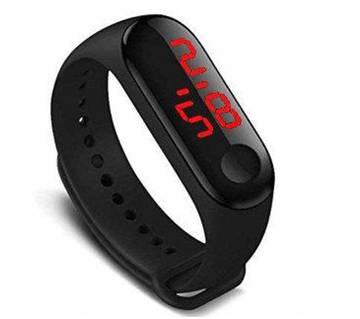 Digital LED bracelet watch