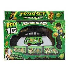 Battery Operated Train Toy BEN10