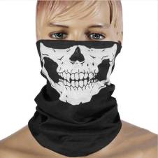 Ghost Face Mask - Black