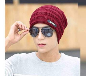 Mens Beanie Winter Cap (Color-random)