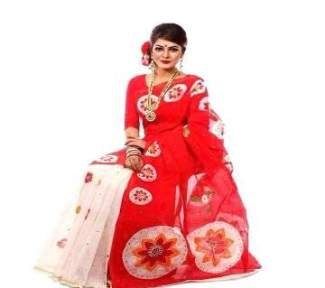 Boishakhi Hand Print Saree