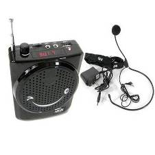 Rechargeable loud speaker with fm radio