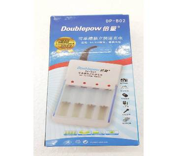 Double pow Rechargeable Battery Charger