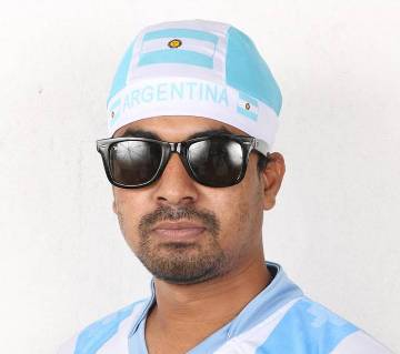 ARGENTINA SUPPORTER HEAD CAP