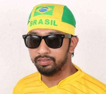 BRAZIL SUPPORTER HEAD CAP