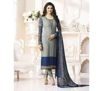 Vinay (Replica) Unstitched Cotton Embroidery Three-Piece