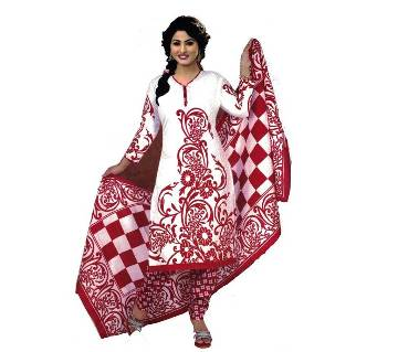 boishakhi Un stitched printed cotton three piece- replica