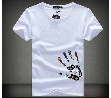 The Hand Mens Half Sleeve  T-Shirt