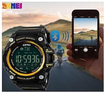 SKMEI 1227 Bluetooth 4.0 Smart Wristband Sports Bracelet Watch 50M Waterproof