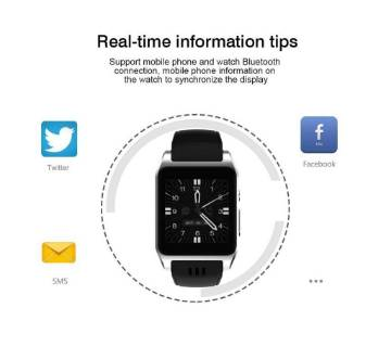 Wi-Fi Bluetooth 3G Android Smart Watch - SIM Not Supported