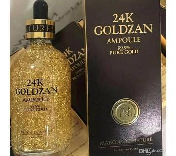 24K Goldzan Ampoule 99.9 pure gold সিরাম china