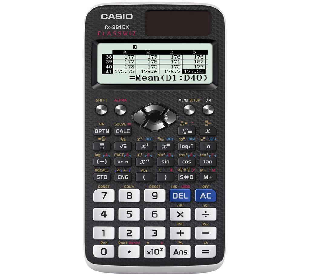 Casio ClassWiz fx-991EX Scientific ক্যালকুলেটর (Original) বাংলাদেশ - 926198