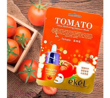 Ultra-Hydrating Moisture Essence Mask Ekel Tomato (25mlx5 Packs) Korea