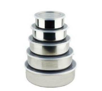 5 Pcs Multifunctional Stainless Steel Protect Fresh Box