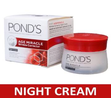ponds age miracle night cream 50gm - Thailand