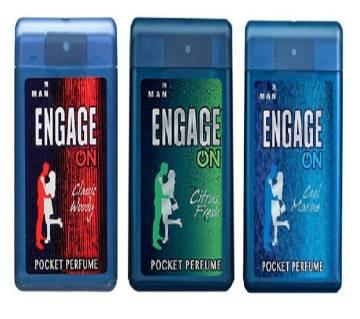 Engage পকেট পারফিউম 18ml - ইন্ডিয়া (২পিস)