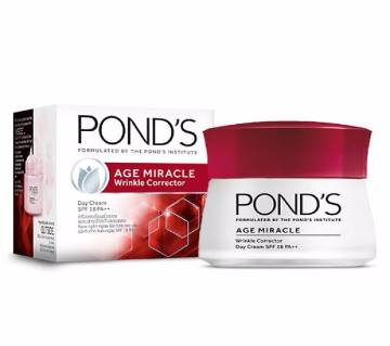 Ponds Age Miracle Wrinkle Corrector Day Cream SPF 18 Pa++ 10g - India