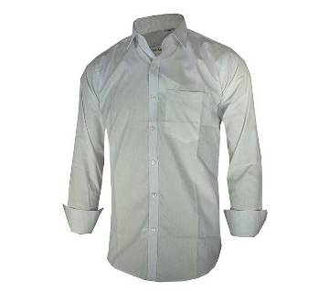 Gents Full-sleeve Formal Solid Cotton Shirt