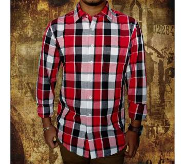 Gents Full Sleeve Check Shirt