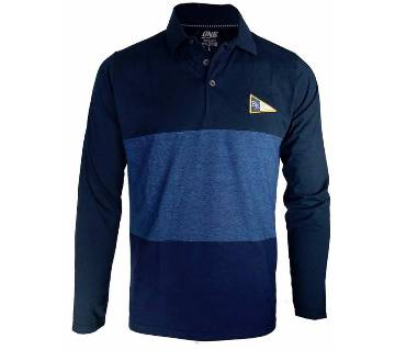 Full Sleeve Cotton Polo Shirt