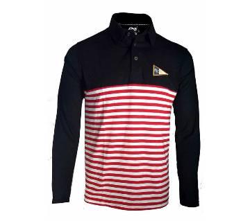 Full Sleeve Cotton Polo Shirt