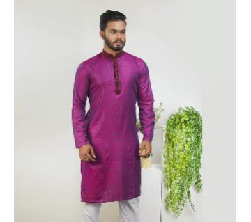 semi long Punjabi for men
