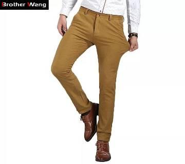 Gabardine Stitch Pant for Men