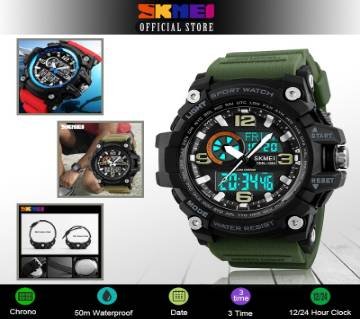 SKMEI 1283 Digital Waterproof Sports Wrist Watch for Men