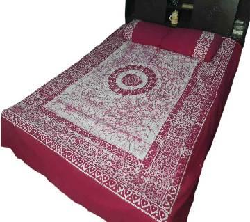 Mom Batik Double Bed Sheet Set