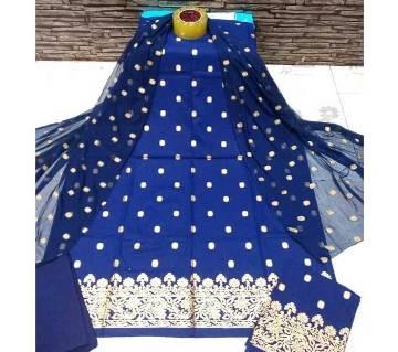 Afsan Printed Unstitched Cotton Salwar Kameez